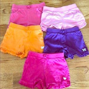 Bundle girls shorts 3T